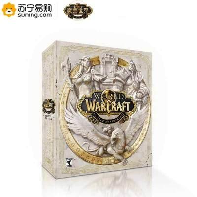 《魔獸世界》十五周年收藏家限定禮盒游戲雕像手辦
