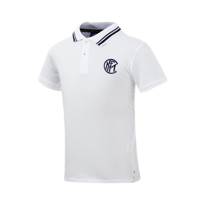 国际米兰足球俱乐部官方polo衫-白色