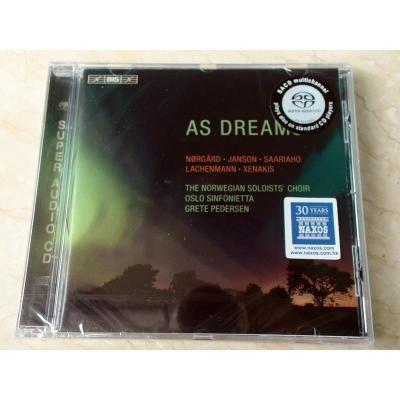 BIS 2139 As Dreams - Choral Music 合唱音乐 SACD