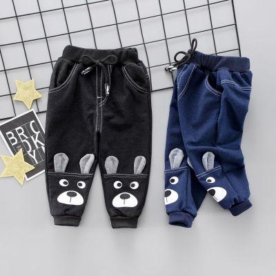 男童褲子2020新款牛仔運動褲1-2-3-4歲嬰幼兒寶寶休閑褲時尚韓版 臻依緣