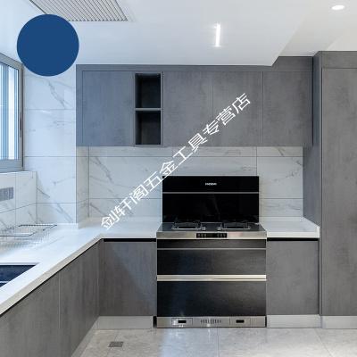溪岸櫥柜定做整體開放式現代簡約廚房歐式廚柜定制裝修設計全屋 預約測量設計 1米