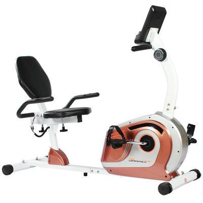 户外新款卧式健身车家用静音磁控动感单车康复脚踏车老年人健身器材放心购