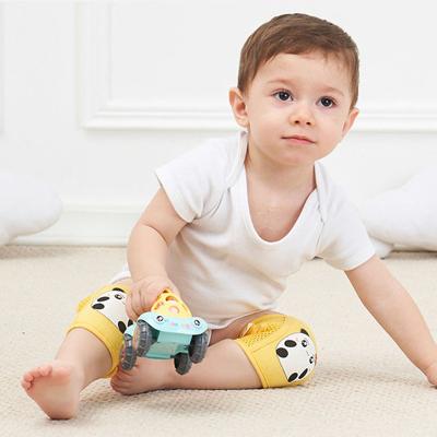 夏季腳套可調節寶寶爬行護膝防滑兒童學步防摔運動護肘學走路莎丞(SHACHEN)
