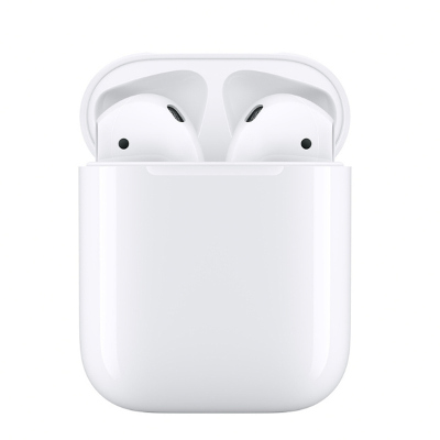 【秒连无障碍】苹果Apple Airpods2 新款二代入耳式无线蓝牙耳机 配有线充电盒 港版 MV7N2ZP/A