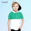 Annil安奈儿童装男童T恤夏季新款短袖T恤EB831262