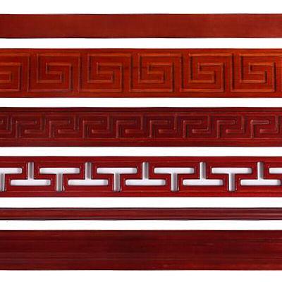 實木線條中式吊頂花頂角線裝飾木線條背景墻新中式客廳邊框線條