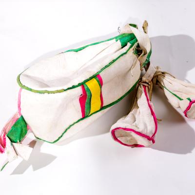 【中華特色館】西藏館 番德林 手工藝品茶葉袋 西藏民族特色 民間工藝類藝術品