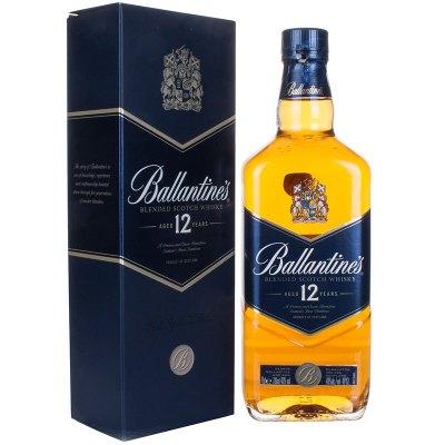 百龄坛 12年苏格兰威士忌700ml(40度)