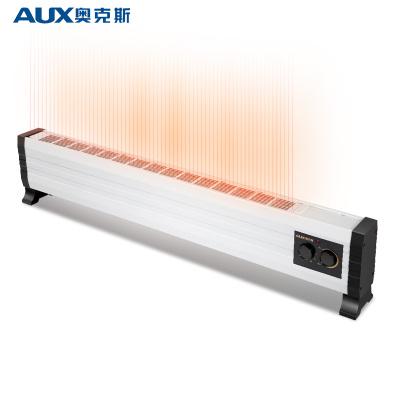 奥克斯(AUX)踢脚线取暖器暖风机电暖气家用卧室变频恒温节能浴室防水暖气片电暖器 NTJX-T200A
