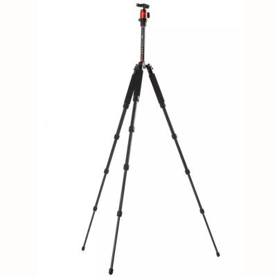 富图宝(Fotopro) X4C+42Q 橙色 轻便碳纤维便携专业三脚架云台套装