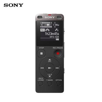 索尼(SONY)ICD-UX565F 数码录音笔/录音棒 黑色 8G内存 商务、会议 高清远距 专业降噪