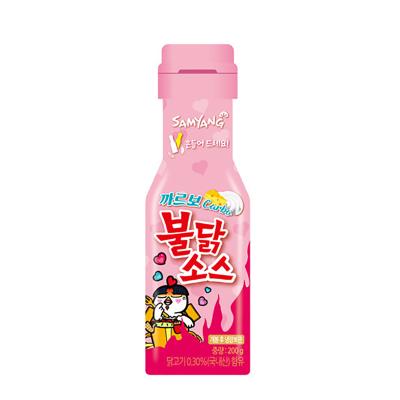 韩国进口三养超辣奶油芝士火鸡酱调味料拌面酱火鸡面酱料200g