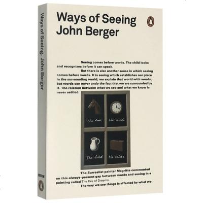 觀看之道 約翰伯格 英文原版 Ways of Seeing 企鵝經典 John Berger 藝術啟蒙讀物 藝