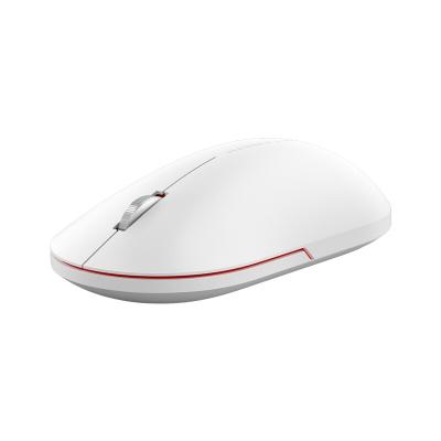 小米無線鼠標2靜音無聲筆記本臺式電腦游戲鼠標男女通用 皎月白