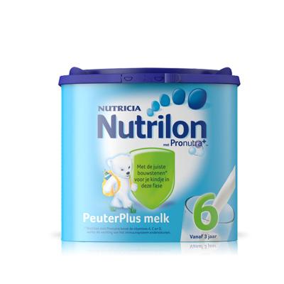 Nutrilon 荷兰牛栏 诺优能 婴幼儿配方奶粉 易乐罐 6段(3岁以上)400g/罐