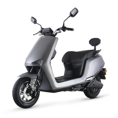綠源電動車歐疆新款72v電瓶車MHN3男女士高速長跑電動輕便摩托車