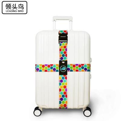 領頭鳥 行李箱綁帶十字打包帶學生旅行出差拉桿箱托運捆扎帶