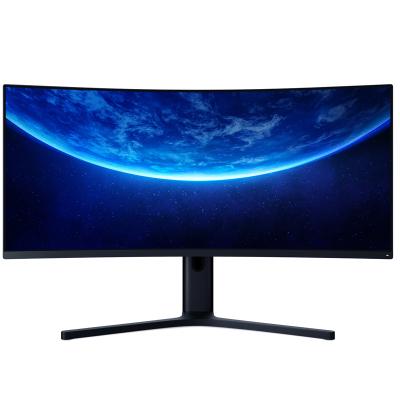 小米(MI)34英寸曲面顯示器 小米游戲顯示器144Hz刷新率 21:9寬廣全景視野顯示器支持升降,旋轉,壁掛