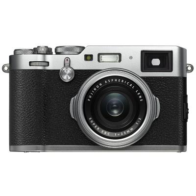 富士(FUJIFILM) X100F 银色 微单相机 定焦套装