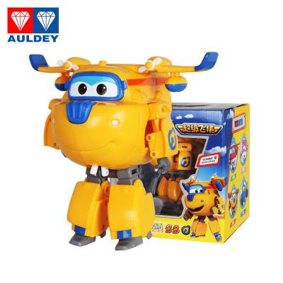 奥迪双钻 AULDEY 超级飞侠 3岁以上男孩女孩儿童益智玩具套装礼盒第五季新款 大号变形机器人-多多 710220