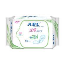 ABC护垫丝薄纯棉柔卫生护垫茶树精华25片/包 N21