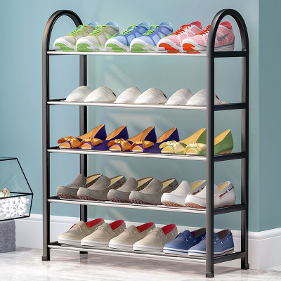 艾格调简易鞋架家用鞋架多层鞋架经济型宿舍门口组装鞋架防尘收纳鞋柜省空间小鞋架子