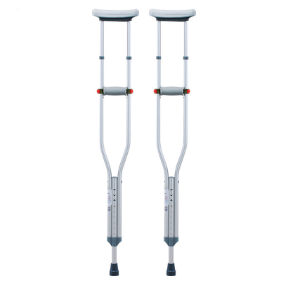 加厚底塞】可孚拐杖防滑老人腋下拐手杖高度可調可伸縮防滑殘疾人拐棍(一只裝,需要一對請拍2只)Cofoe