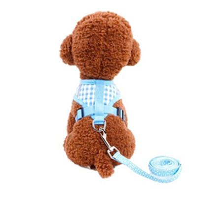 狗狗牽引繩泰迪比熊貓咪小型犬寵物用品狗鏈子小狗狗背心式胸背帶狗繩