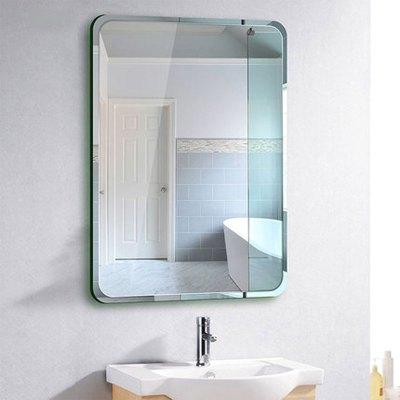 浴室镜子卫浴镜卫生间化妆镜子壁挂梳妆厕所洗手间镜子贴墙 生活日用商业办公家具发廊美容家具理发镜台