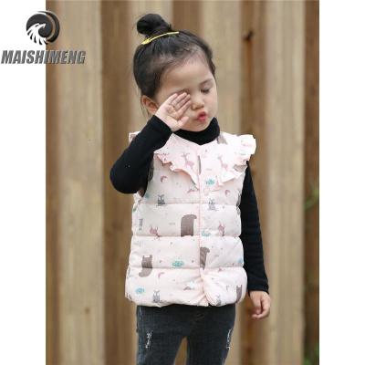 【品牌特卖】女童羽绒马甲外穿洋气婴幼儿童装羽绒服内胆中小童女宝宝背心秋装