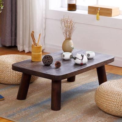 实木日式飘窗桌小茶几炕桌炕几阳台榻榻米和室矮桌学生国学课桌子