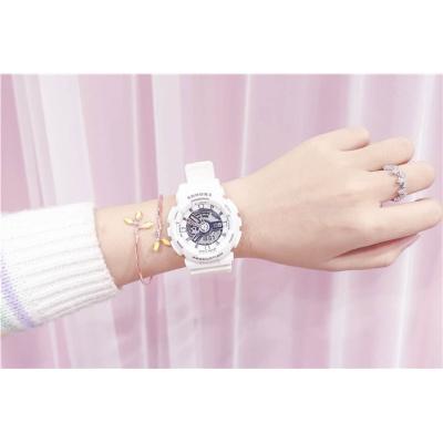 独角兽手表 可爱ins电子手表女中学生韩版少女防水原宿风运动同款