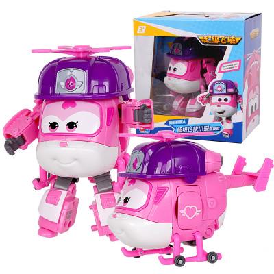 奥迪双钻(AULDEY)超级飞侠 男孩女孩儿童玩具车 变形机器人超级飞侠小爱-救援款 730222