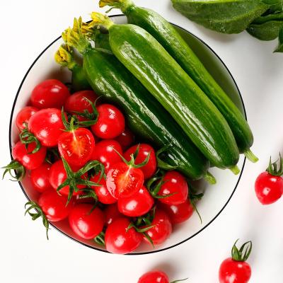 【雙數發貨】新鮮圣女果小黃瓜2.5斤組合 西紅柿櫻桃小番茄水果黃瓜荷蘭瓜柿子蔬菜