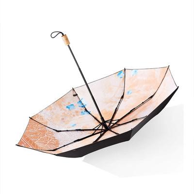 蕉下晓风太阳伞防晒防紫外线雨伞女晴雨两用复古中国风伞遮阳伞大2020年新款