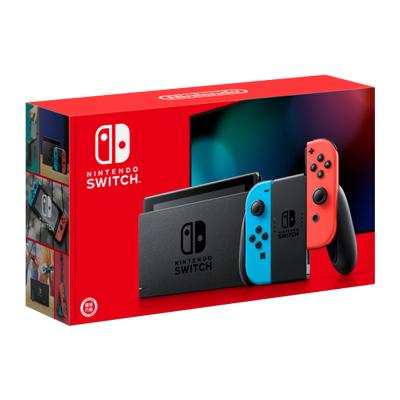【新版續航增強】任天堂(Nintendo)Switch 掌上游戲機便攜 NS 紅藍手柄 續航增強版 日版