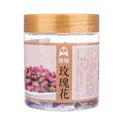 鴻翔 玫瑰花50g/罐裝 云南玫瑰花茶