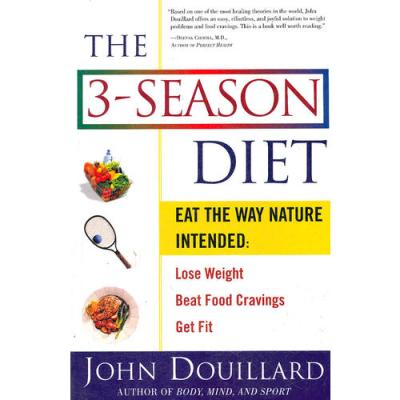 3-SEASON DIET, THE(ISBN=9780609805435) 英文原版