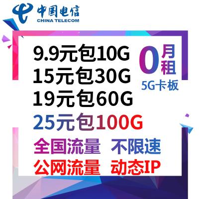 中國移動無限流量卡4g全國純流量卡大王卡手機卡0月租不限速手機號碼電話卡隨身wifi卡手機卡