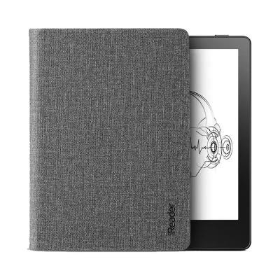 【套装】全新掌阅 iReader A6 电子书阅读器 听读一体 6英寸电纸书 8GB太空灰+原装侧翻?;ぬ?赭石灰
