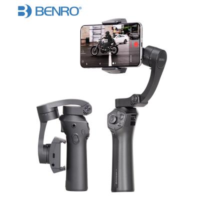 百诺(BENRO) P1折叠口袋手机手持稳定器 拍摄视频摄像防抖GOPRO三轴云台