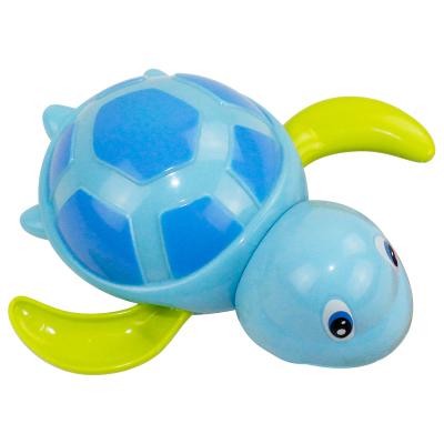 港比熊 宝宝洗澡戏水小乌龟 发条上链小动物儿童玩具 戏水玩具(颜色随机)HZ527A