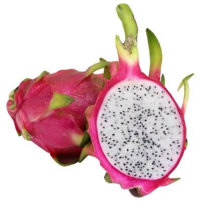越南白心火龙果新鲜水果5斤装净重4.6-5斤约4-7个果(以净重为准)