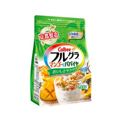 【元气早餐搭档】卡乐比(Calbee)即食麦片 芒果味 600g/袋 谷物早餐 方便速食 代餐 日本进口