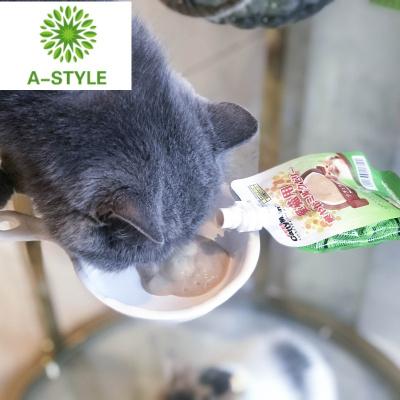 zy貓咪牛奶凍80g 幼貓可舔舐 貓咪奶昔果凍流質零食