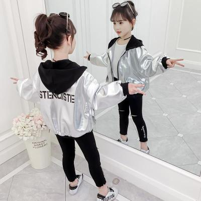 女童外套春裝2019新款兒童夾克上衣秋韓版女孩超洋氣網紅棒球服潮