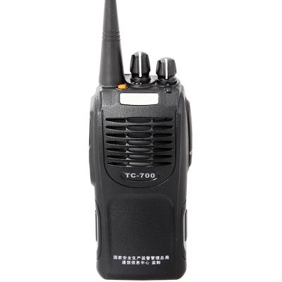 海能達(Hytera)TC-700EX 防爆對講機商用 專業模擬機器 黑色