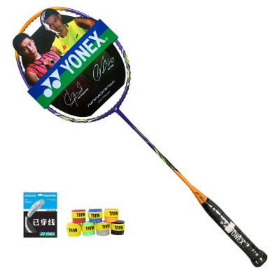 YONEX尤尼克斯羽毛球拍yy全碳素超輕進攻型男女單拍銳速NR-8GE