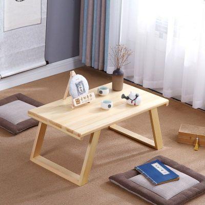 日式榻榻米桌小茶幾簡約飄窗桌窗臺桌實木炕桌矮桌中式陽臺小桌子