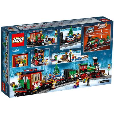 LEGO樂高 Creator創意百變系列 冬季度假列車10254